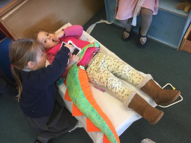 Zog inspired medical role play