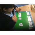 Hard at work in Kingfisher's phonics lesson!
