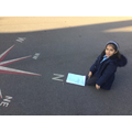 We took our maths outside!