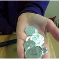 10 silver coins