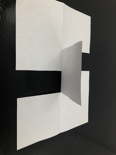 The impossible piece of paper