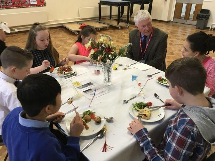 Y6 Democracy Day Dinner Party Debate