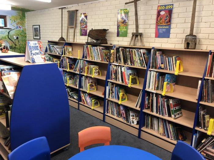 Water Mill school library