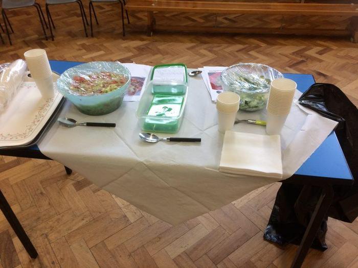 International Week food sharing