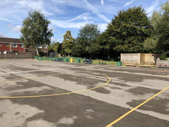 Main school playground