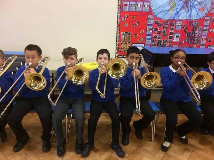 Y4 Class instrument concert