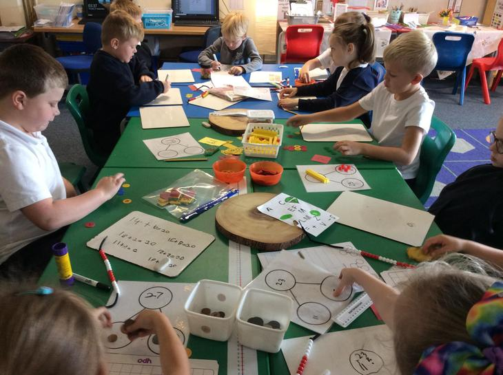 Representing numbers in different ways.