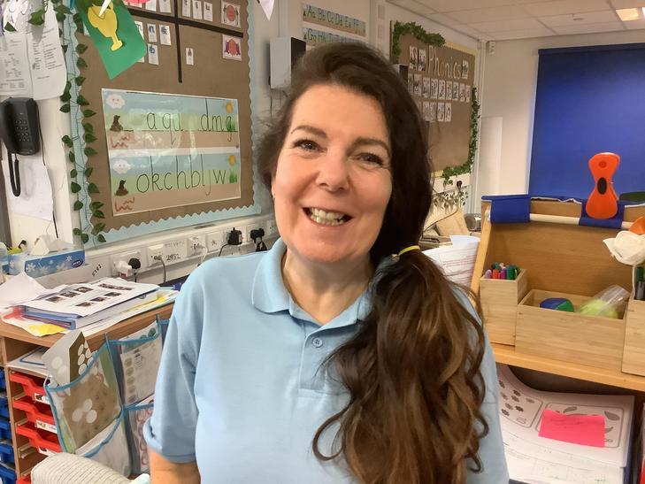 Mrs Eastwood - Blue team teaching assistant