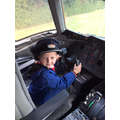 Some of us now want to be pilots when we're older.