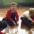 Ears, coins galore and a big smile- Fantastic!