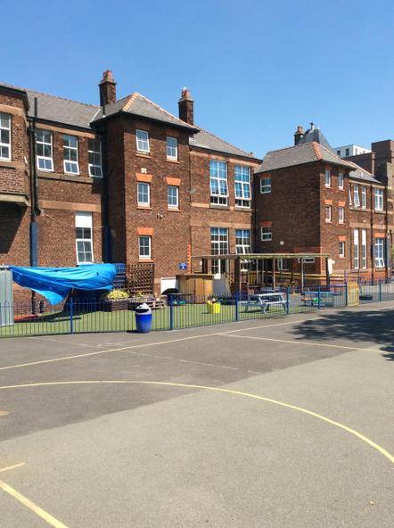 Reception play area.