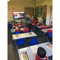Virtual whole school and remote learners assembly