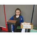 Emily Q created a Victorian school model