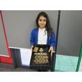 Sienna created a Victorian classroom model