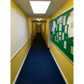Our main teaching corridor