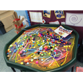 messy play exploring colour and fireworks