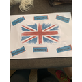 Isabelle's British values poster