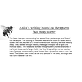 Anita's fantastic writing