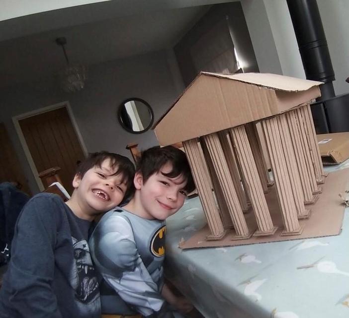 Freddie and Alfie's Parthenon