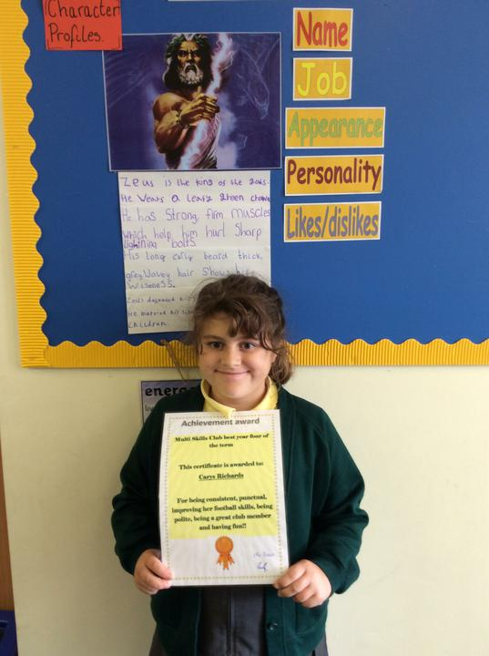 Year Four Multi-Sport Champion