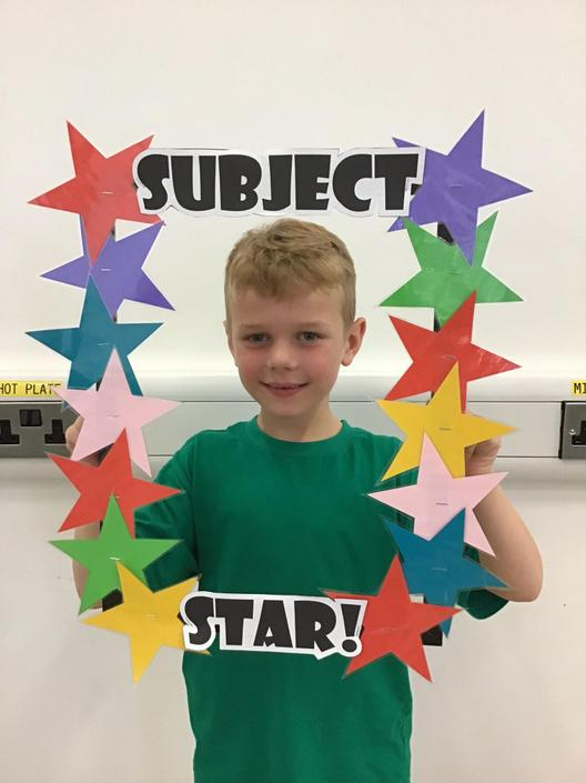 Ethan is our Science Subject Star!