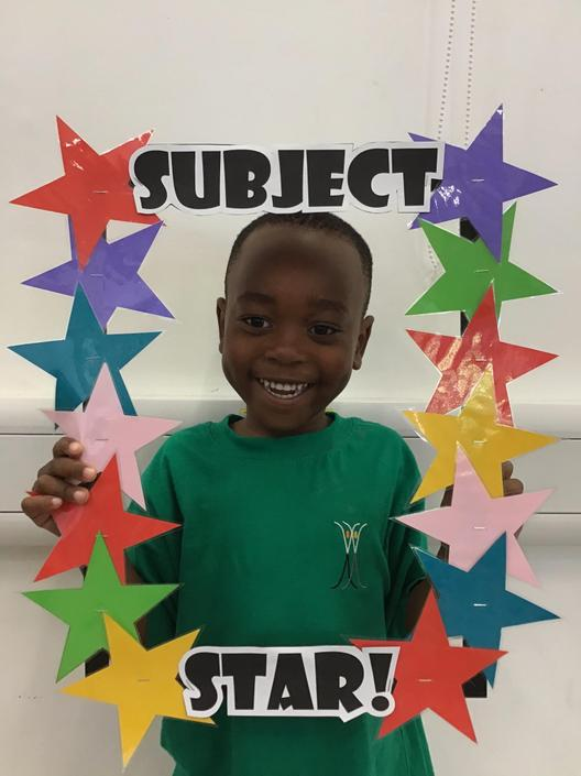 Leroy is our English Subject Star (13.09.19)
