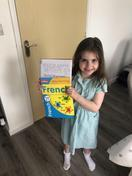 Isla learning some French!