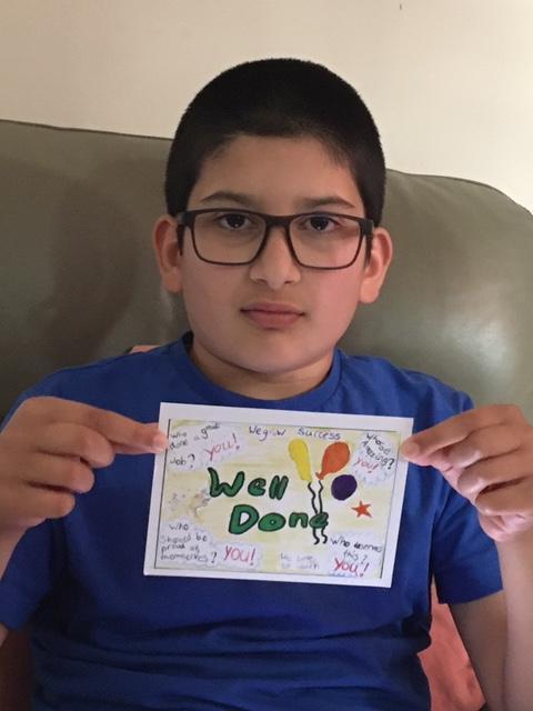 Well done Hamza!