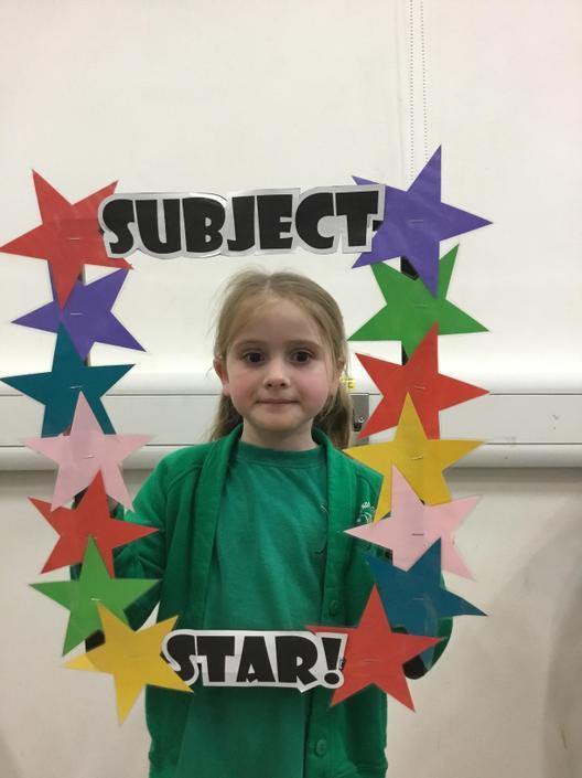 English Subject Star this week is Chloe!