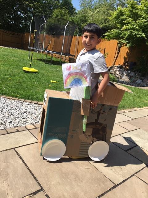 Hisham's new car.