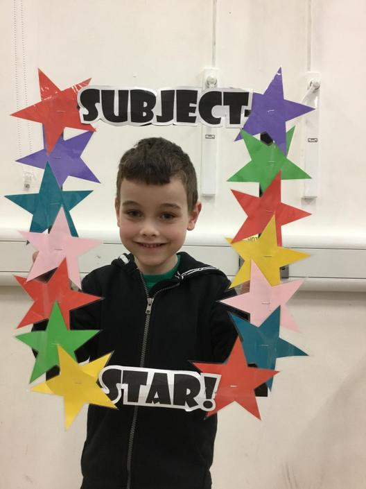 Finley is our Humanities Subject Star!