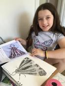 What a delicate and detailed drawing from Hannah!