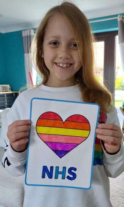 Ella's beautiful rainbow.