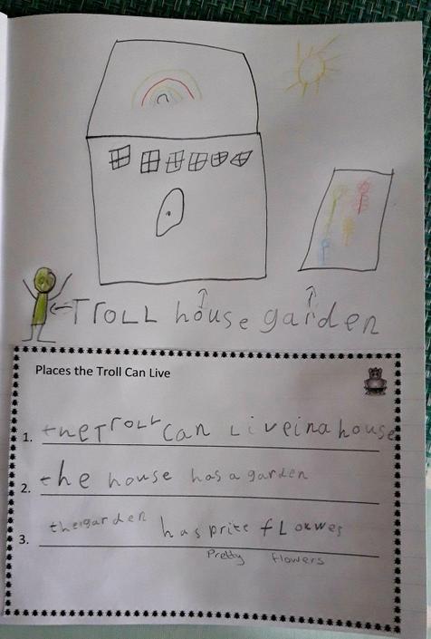 Amelia's super writing