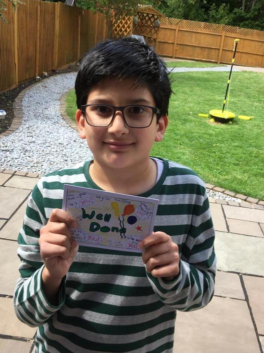 Well done Hamza