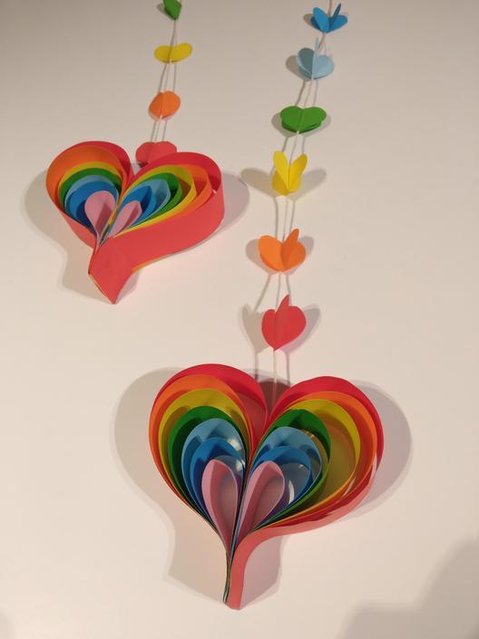 Abbie's fantastic rainbow!
