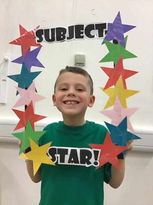 Ellis is our Science Subject Star!