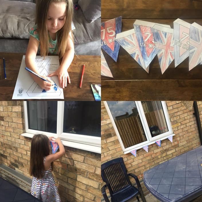 Emmie's VE Day celebrations