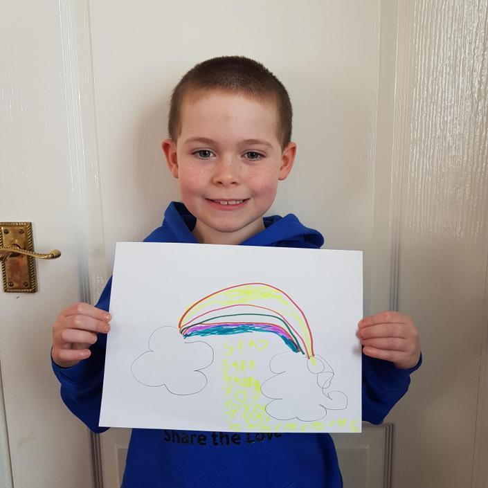 George's rainbow