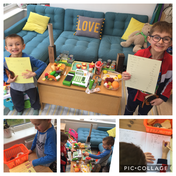Arthur and Dylan have created a super shop!