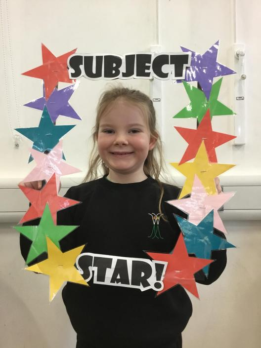 Chloe is our Homework Subject Star!