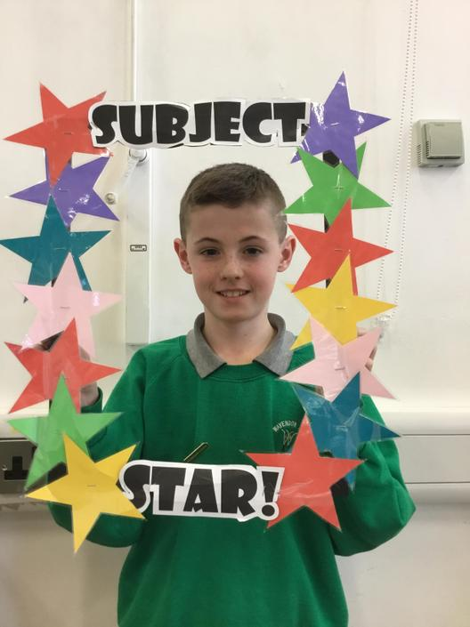 Reading Subject star!