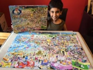 Taran completed this puzzle in only 3 days!