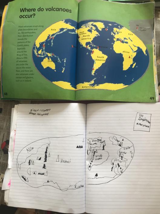 Ellie's amazing geography