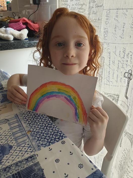 Chloe's rainbow!