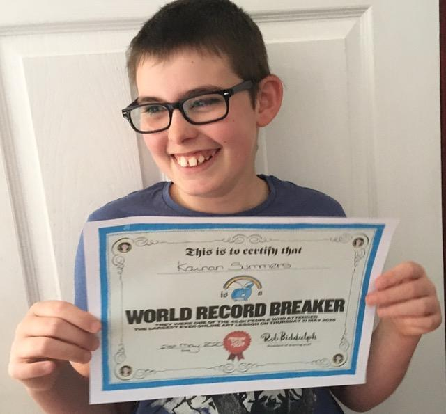 Kai breaks a world record!