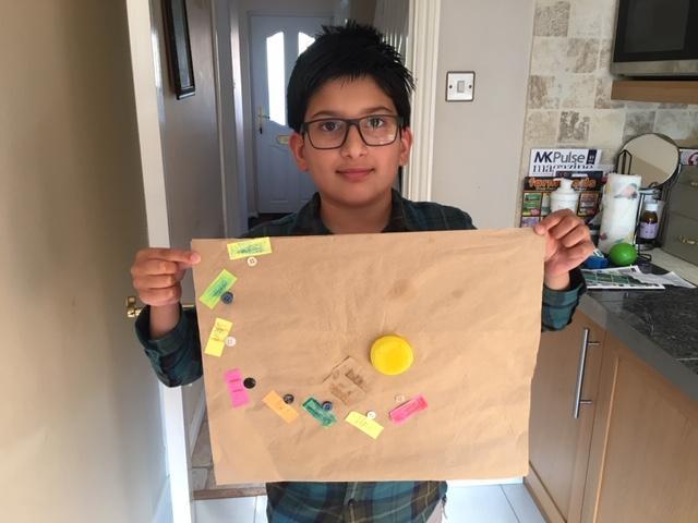 Hamza's fantastic solar system.