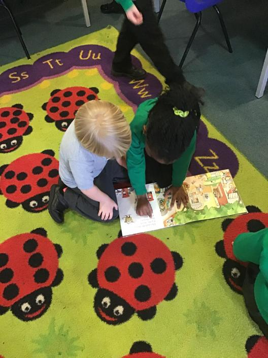 We have enjoyed reading some stories!