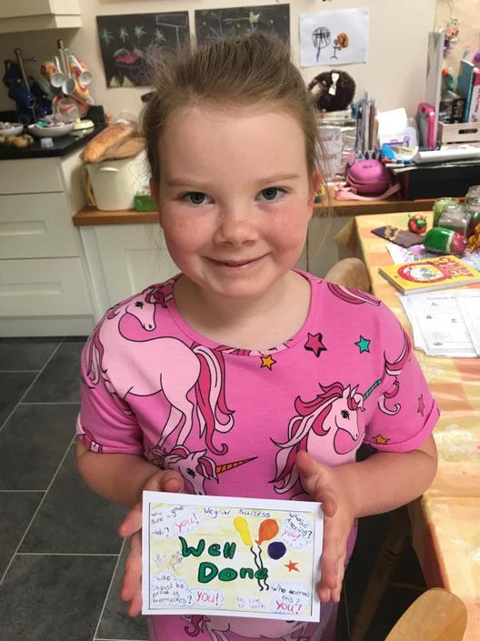 Well done Chloe!