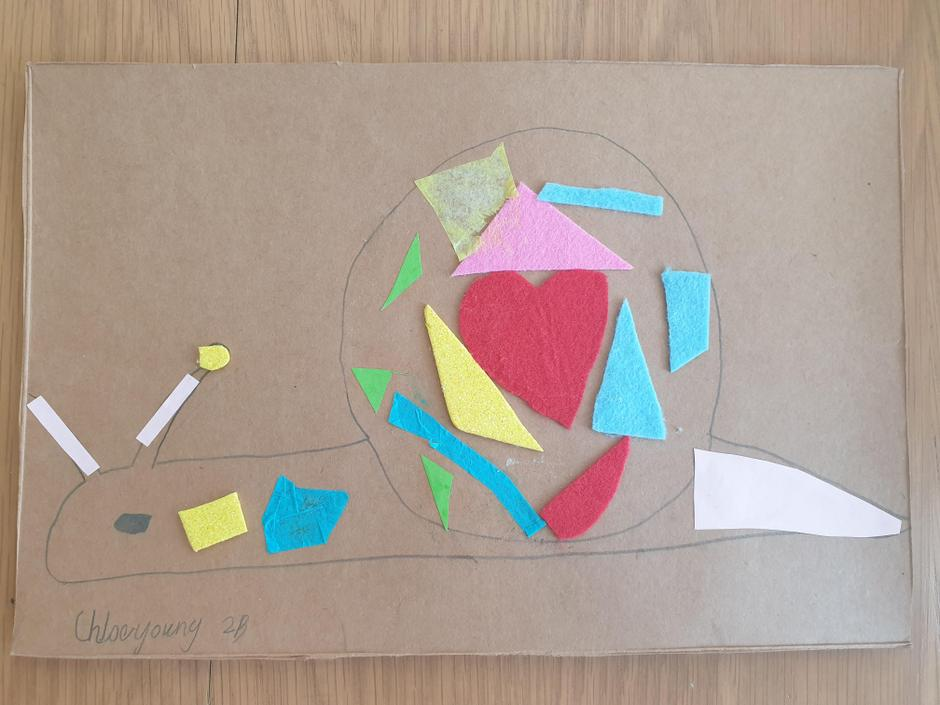 Chloe's Matisse snail picture